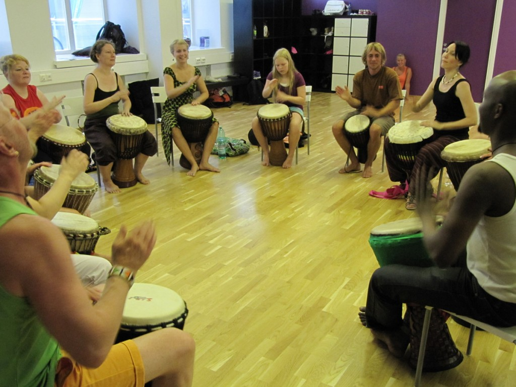 Djembe with Cheick Bangoura