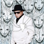 Salif Keita (Photo: Thomas Chéné, art: Lemza)